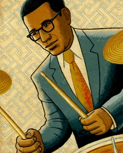 Max Roach by James Steinberg SOLD