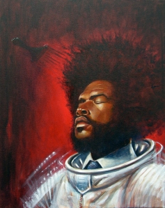 Questlove by Henry Fong SOLD